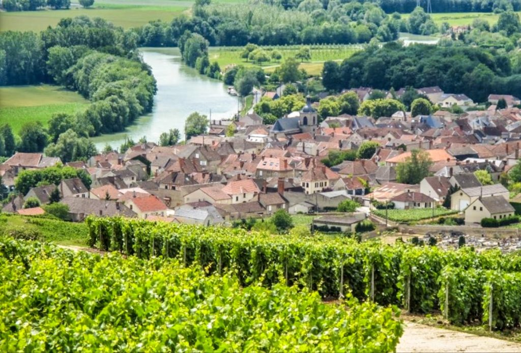 Charming village in Champagne