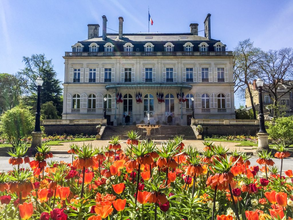 Hotel de Ville in Epernay, at Avenue du Champagne