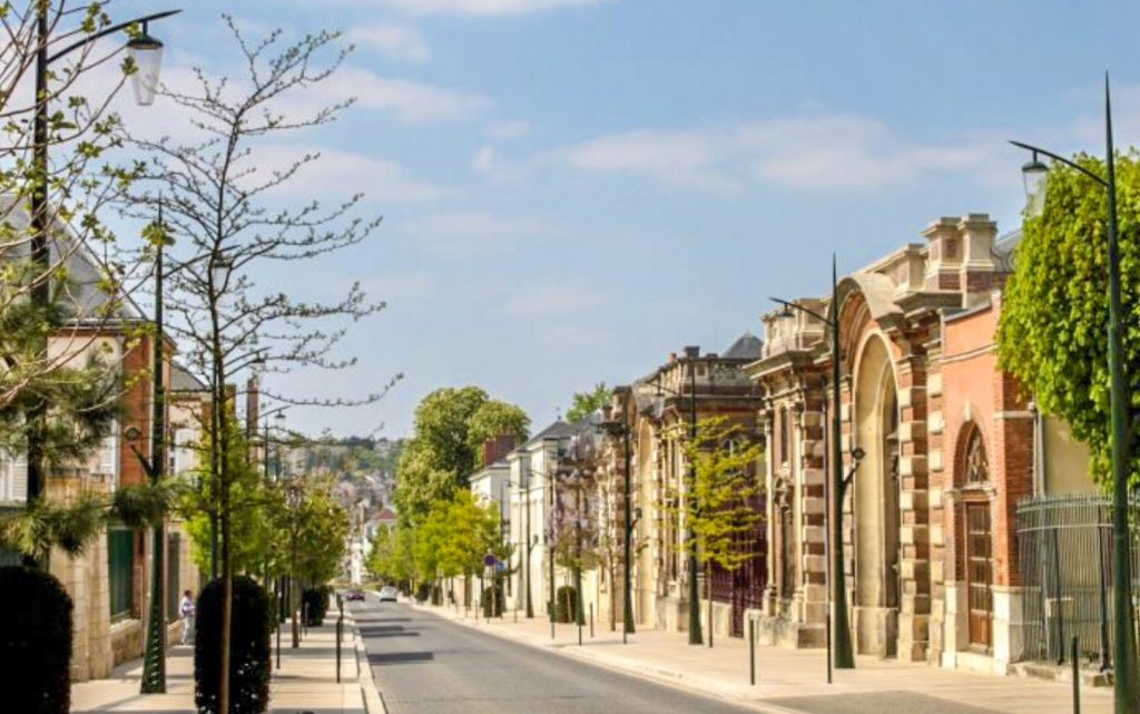 Avenue du Champagne, the most beautiful avenue in Épernay