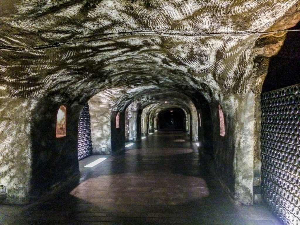 A Labyrinth full of wine at Moët & Chandon