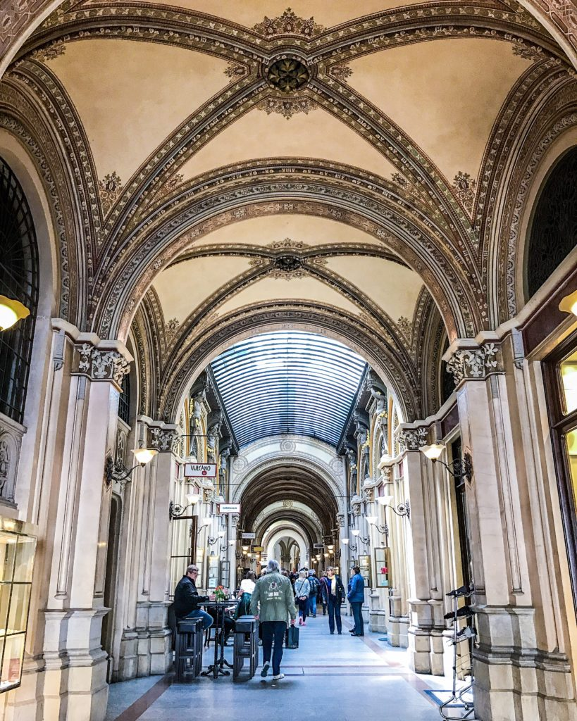 Ferstel passage, the prettiest in Vienna