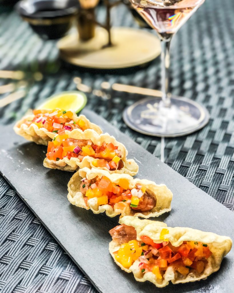 Spicy Tuna Tacos