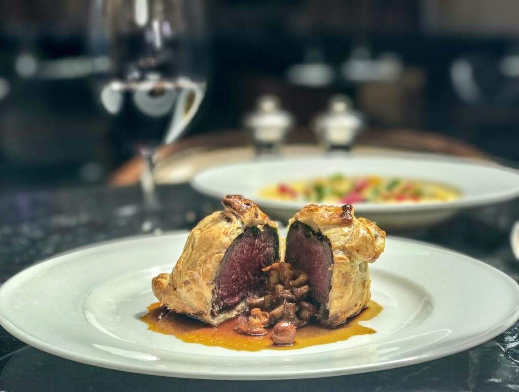 A gran finale with Beef Wellington