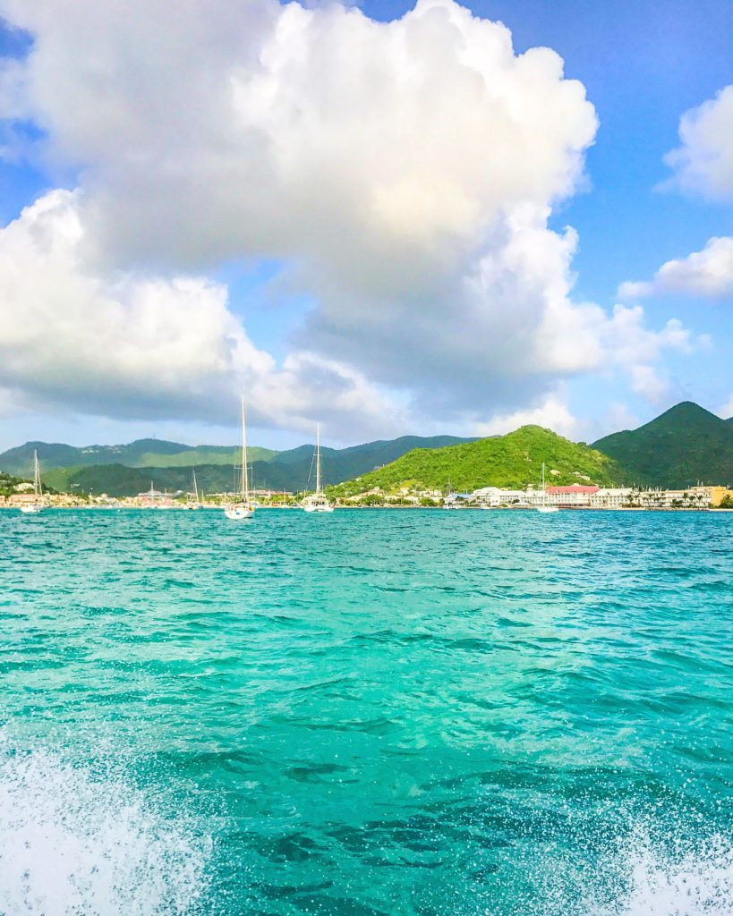 Beautiful way from St. Martin to Anguilla