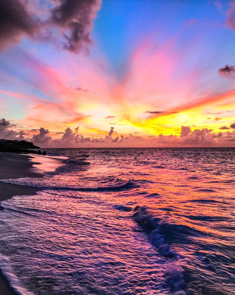 Sunsets of a lifetime in Anguilla