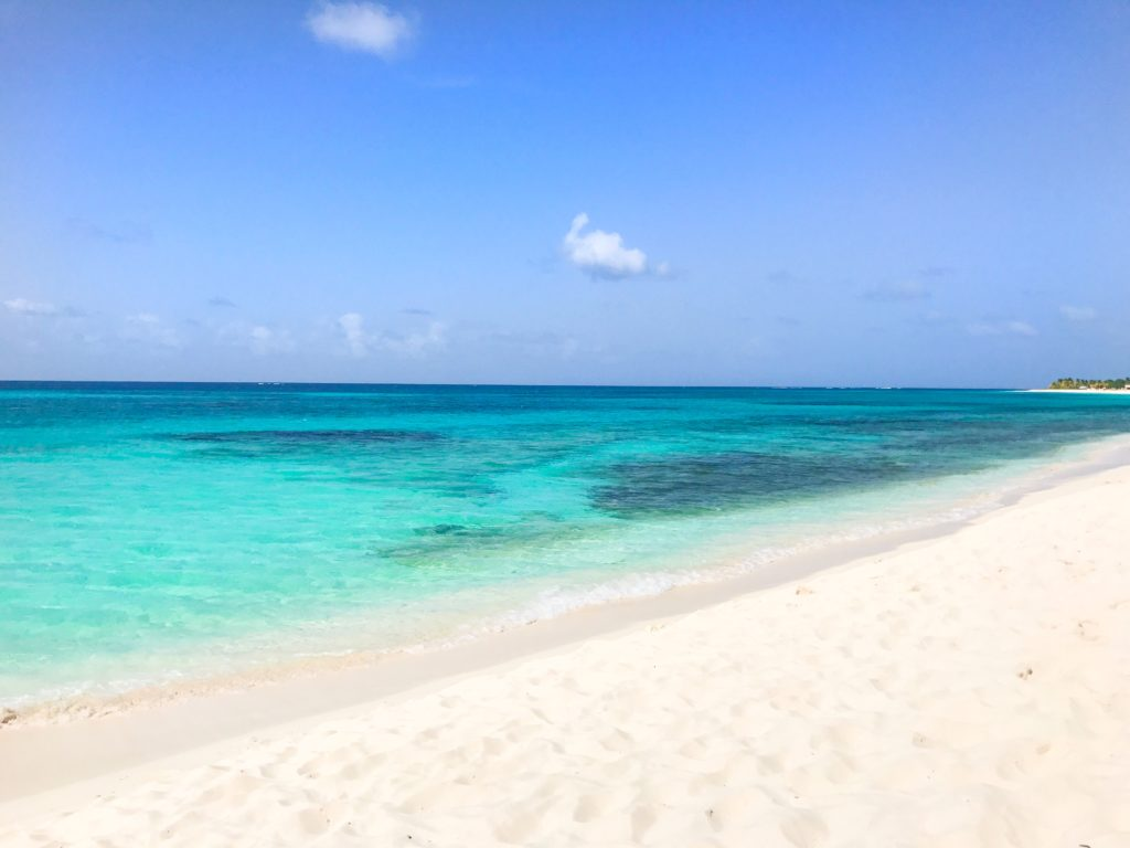 Warm turquoise waters of Shoal Bay