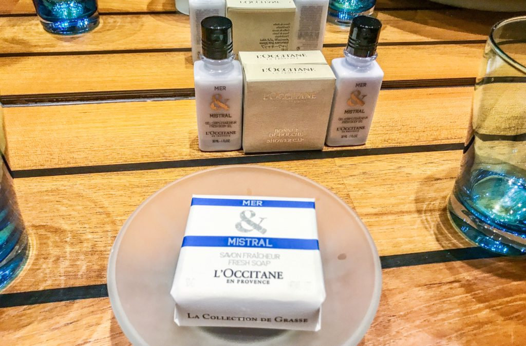 L'Occitane amenities